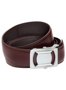 Genuine Leather Men's Adjustable Belts