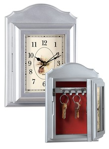 Wall Clock Key Holder