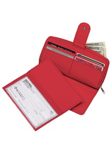 Large Multi-Pocket Ladies' Wallet