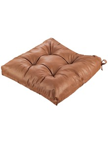Faux Leather Chair Cushion