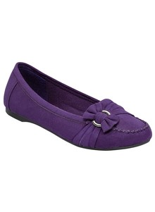 Loafer-Style Flat