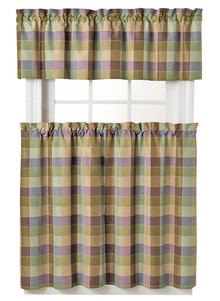 3-Piece Jacquard Curtain Set