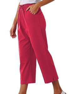 Drawstring Capri Pants