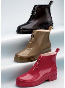 Waterproof Zip-Front Boots