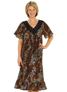Leopard Flattering Float Dress
