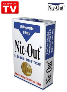 Nic-Out Cigarette Filters - As Seen on TV