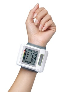 Auto-Inflation Talking Blood Pressure Wrist Monitor
