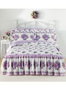 Lilac Floral Bedding Separates