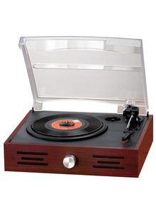 Turntable with Built-In Speaker