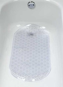 Hair Catcher Bath Mat
