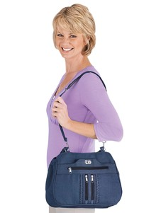 9-Pocket Denim Handbag Set