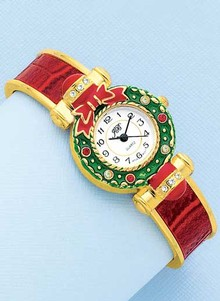 Yuletide Wreath Watch