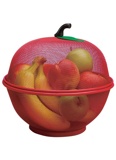 AppleShaped_Fruit_Basket_Mesh_Fruit_Holder_Red