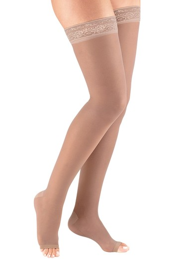 Thigh-High Compression Stockings  Firm Support (2030 mmHg)