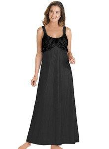 Lace Bodice Tricot Gown