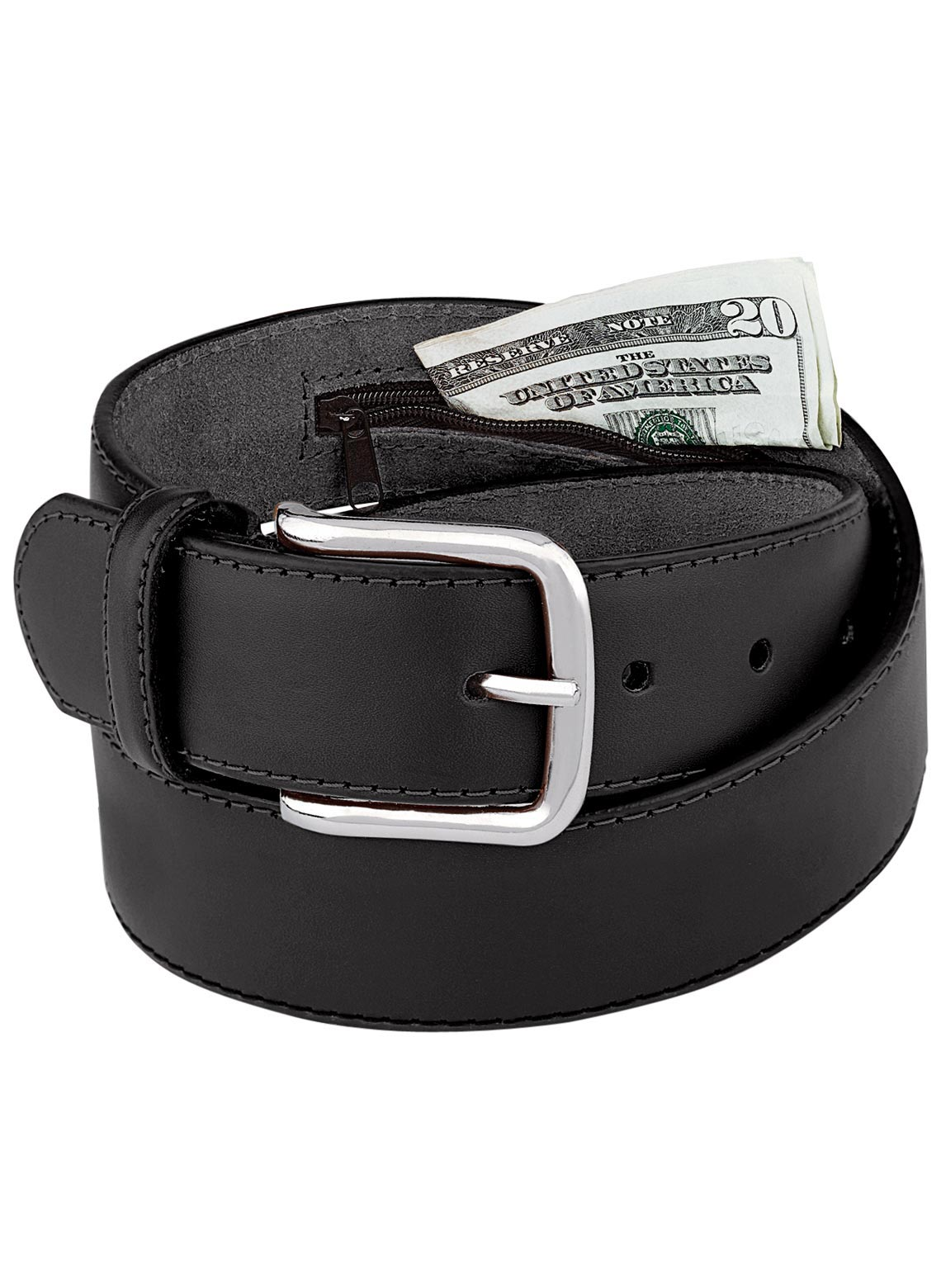 leather money belt drleonards