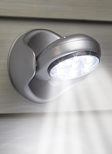 Motion Activated Light - Silver