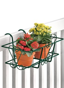 Railing Flower Basket