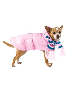 Stylish Pet Parka and Scarf