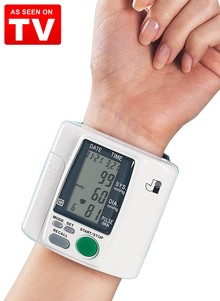 Wristech&#153 Blood Pressure Monitor - As Seen on TV